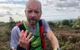 Ross Walton during the 32-mile Climb South West 8 Trigs race. Picture: Sidmouth Running Club