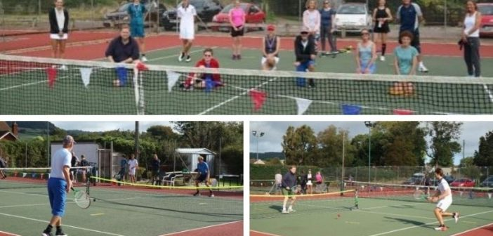 First-ever 'touch tennis' tournament is a hit in Sidford