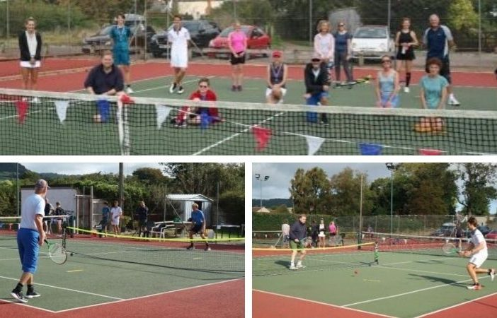 Sidford - Scenes from the first-ever 'touch tennis' tournament in Sidford. Pictures: Sidford Tennis Club