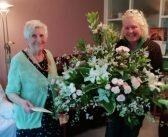 90th birthday blooms presented to former Ottery resident for Devon County Show dedication
