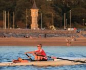 Exmouth rowers celebrate new boat thanks to £750 council grant help