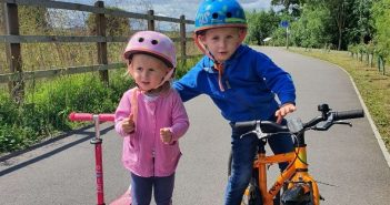 Kids' lockdown cycle challenge in Exmouth and Exeter raises almost £500 for disabled children