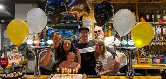 Honiton Bruv's Bar marks first year of business with 'emotional' birthday bash