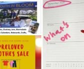 What's on in Exmouth……table top sale and pre-loved clothes sale