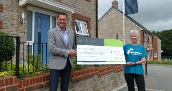 Developer donations from new homes near Honiton boost funds for Hospiscare