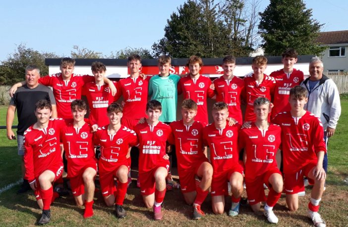 Budleigh Salterton AFC Under-18s who have made a fine start to the new Devon League season with two wins. Picture: SpursTom
