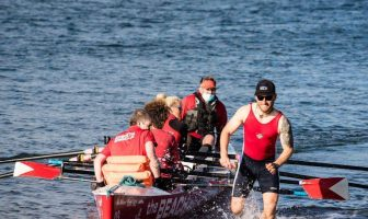 Action from Exmouth Rowing Club. Picture: Les Norcliffe