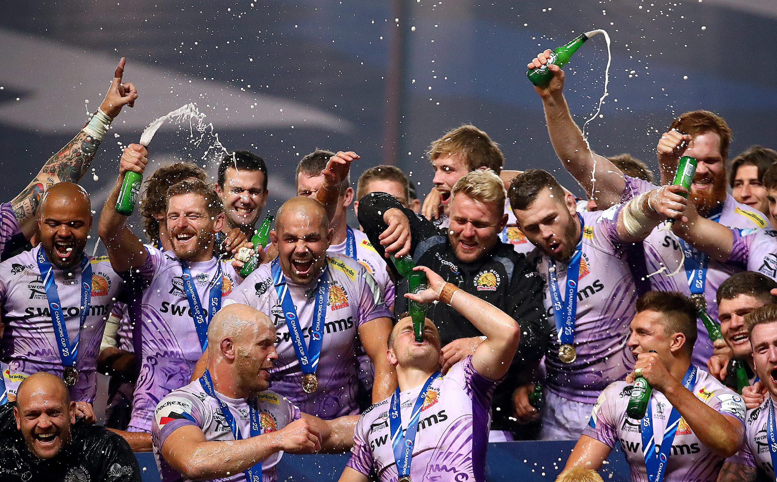 Exeter Chiefs Picture: ©INPHO/James Crombie