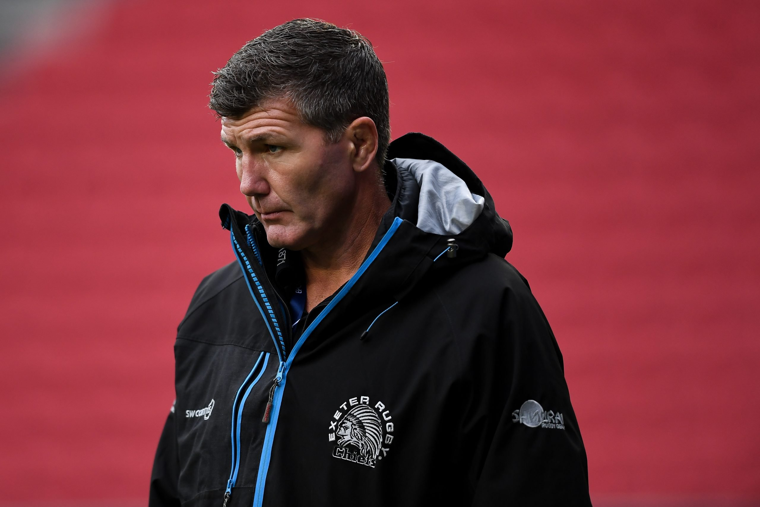 Exeter Chiefs director of rugby Rob Baxter. Picture: ©INPHO/Ryan Hiscott