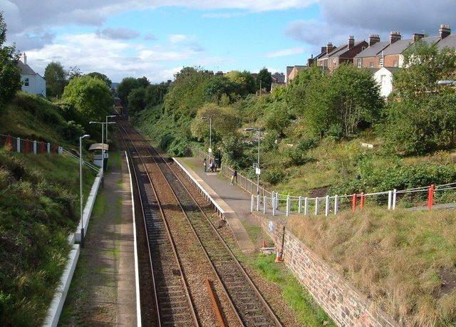 St James Park train station in Exeter. Image: Derek Harper