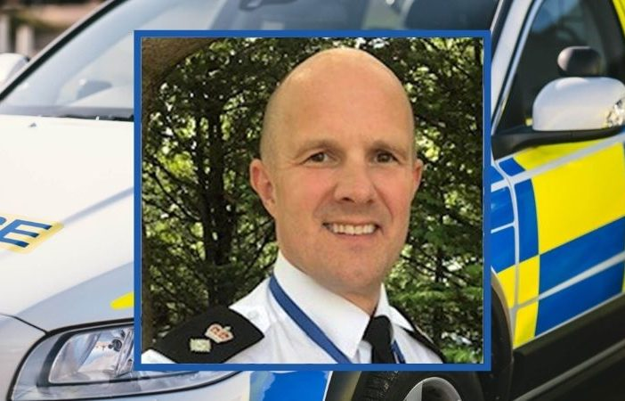 Chief Superintendent Dan Evans is the new policing commander for East Devon and Exeter. Picture: Devon and Cornwall Police