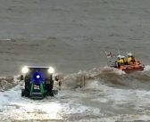 Stricken cocker spaniel in river sparks callout for Exmouth RNLI and coastguard rescuers