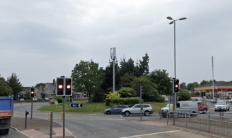 The Countess Wear roundabout in Exeter. Picture: Google Maps