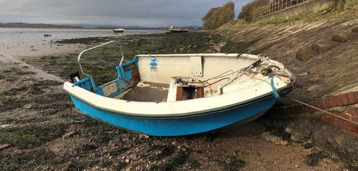 Danger boat wrecks abandoned in Exe Estuary prompt warning from harbourmaster