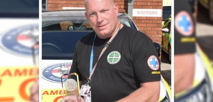 Honiton: Devon Freewheelers founder Dan's pride at lifetime achievement award