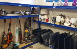 Electrical goods are now being sold at recycling centres in Exmouth and Exeter. Picture: Devon County Council