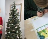 Ottery pupils spread Christmas cheer with homemade cards to retired residents
