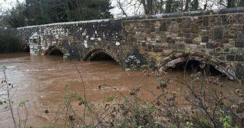 Flooding risks reduce in East Devon as rain-swollen river levels drop