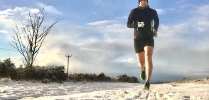 Sidmouth runners brave snow and ice during off-road challenge