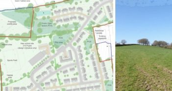 Decision-day looms for controversial plans for 150 homes and new school in Ottery St Mary