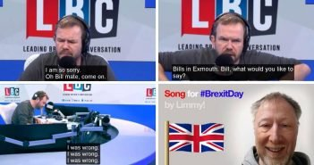 Sobbing Exmouth Brexiteer Bill is star of comedian's new song released to mark UK's EU departure