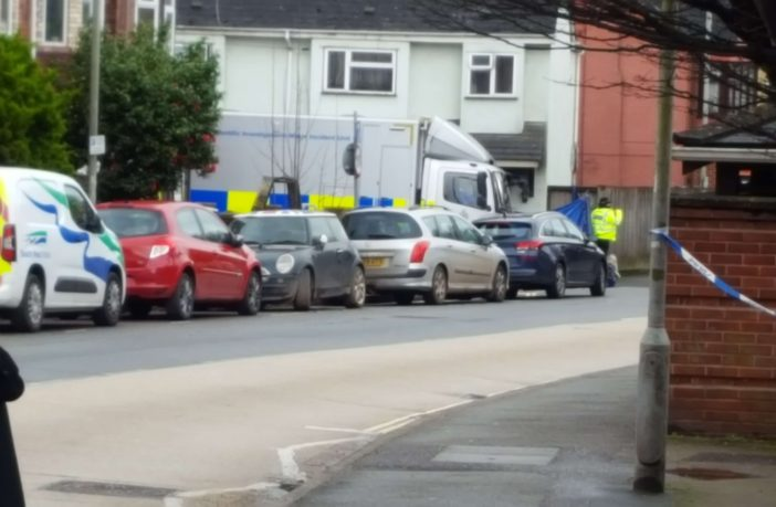 Emergency services were called to a property in Clayton Road, off Bonhay Road, in the St David's area of Exeter. Picture: Irving of Exeter