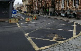 Queen Street in Exeter. Picture: Devon County Council