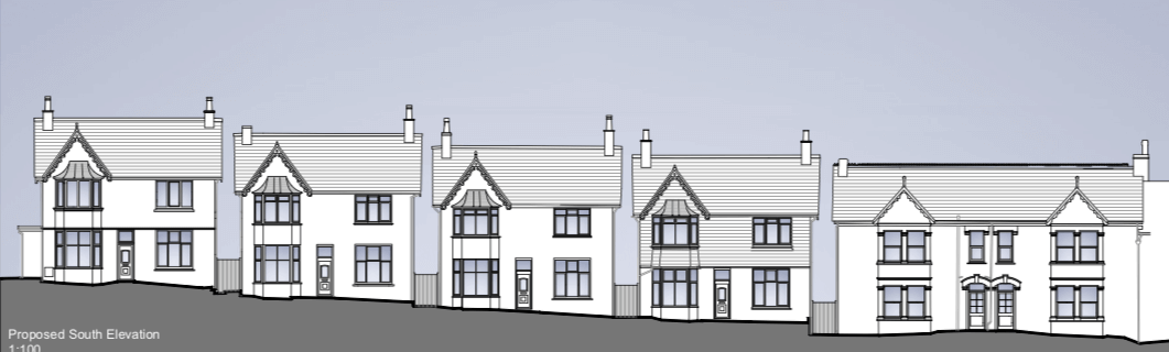 From the planning application - proposals for the former Bindon care home in Sidmouth. Image: BRL Architects