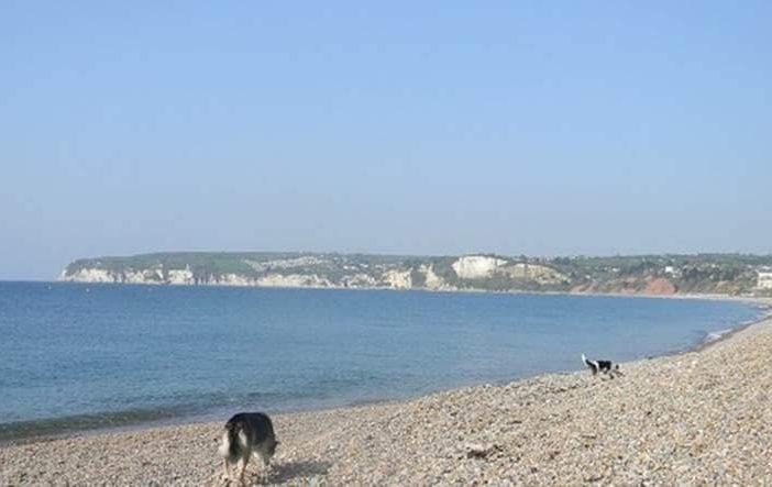 Seaton beach. East Devon