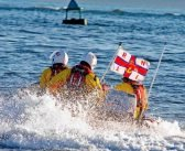 RNLI rescues two people and dog trapped by the tide in Exmouth