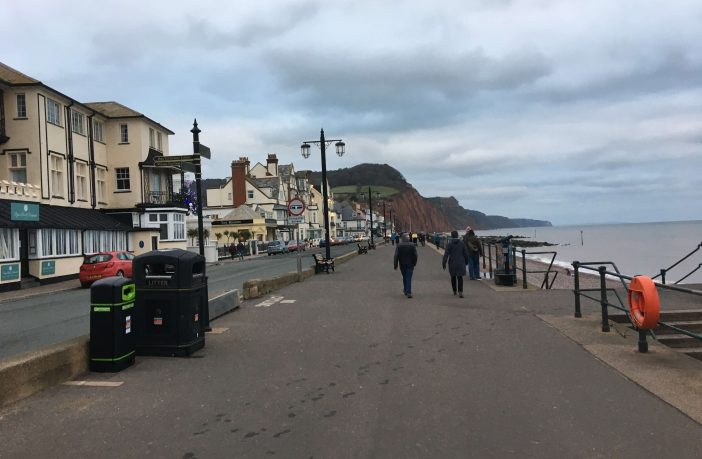 Archive photo - The Esplanade in Sidmouth.