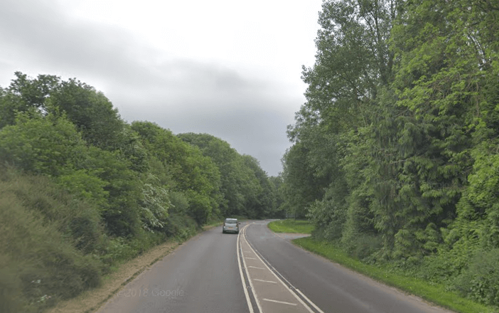 The A3052 near Sidmouth. Image: Google Maps
