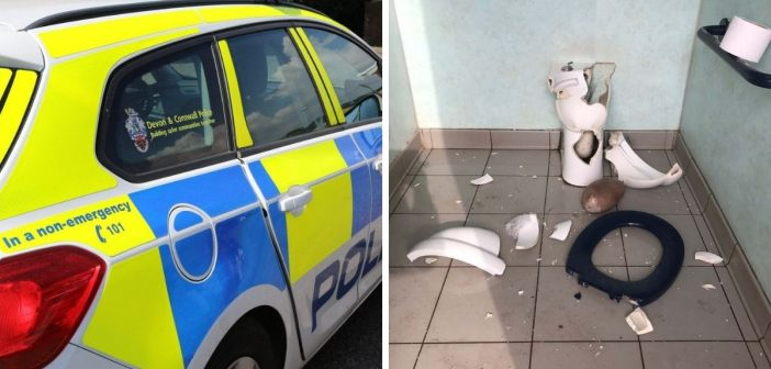 'No date' for toilet repair after vandals smash public loo overnight in Budleigh