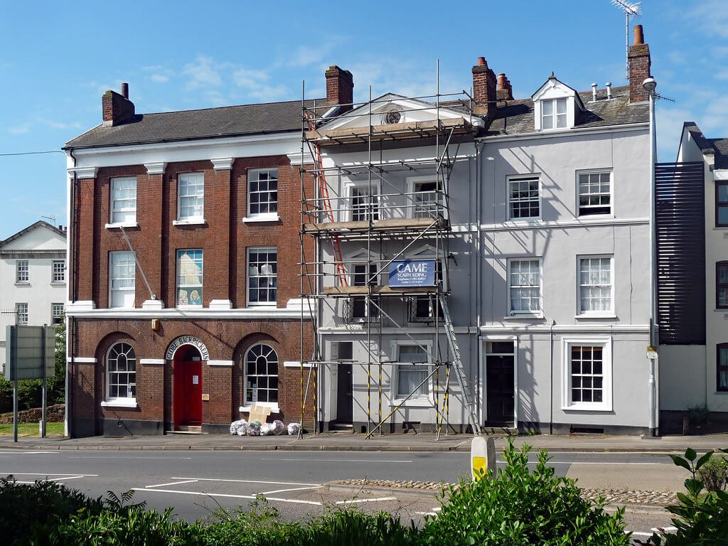 The Globe Backpackers hostel in Exeter. Image: Stephen Richards/Geograph