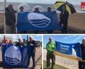 Success for super seasides! Exmouth and Sidmouth beaches net Blue Flag recognition, as Budleigh and Seaton also land awards