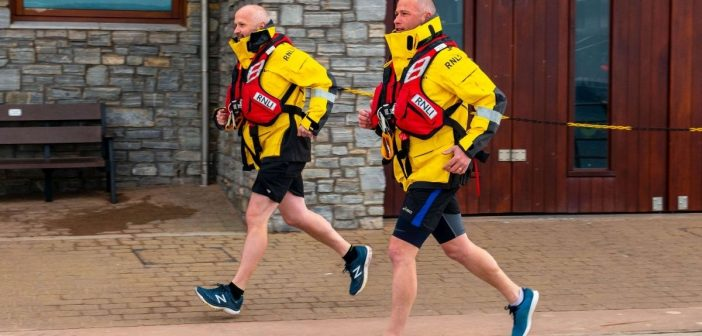 Relay run MayDay fun to raise funds for Exmouth RNLI