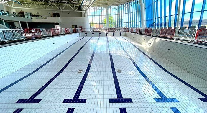 Inside the Riverside Leisure Centre in Exeter. Image: Exeter City Council