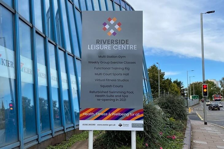 The Riverside Leisure Centre in Exeter. Image: Exeter City Council