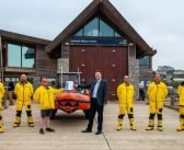 'You're roar-some' Budleigh Lions thanks Exmouth RNLI for Covid community support