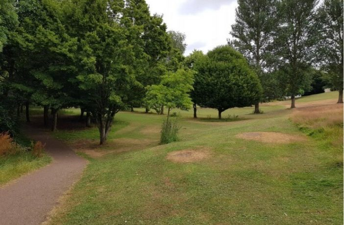 The former Northbrook Approach Golf Course. Image: Exeter City Council