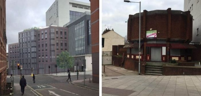 Go-ahead for seven-storey block of student flats to replace shut pub in Exeter city centre