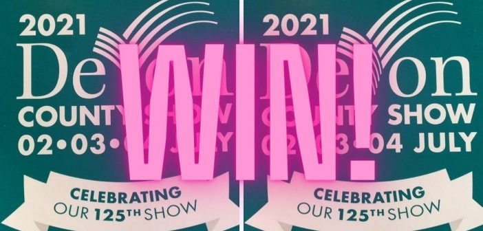 WIN! Ticket giveaway for the Devon County Show 2021