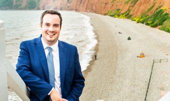 East Devon MP Simon Jupp. Image: Gareth Williams