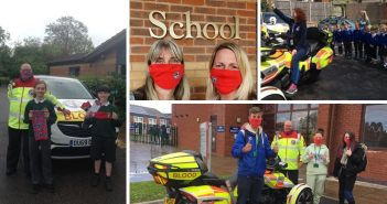 'They could be our future volunteers' – Devon Freewheelers donates free face masks to schools in Exmouth