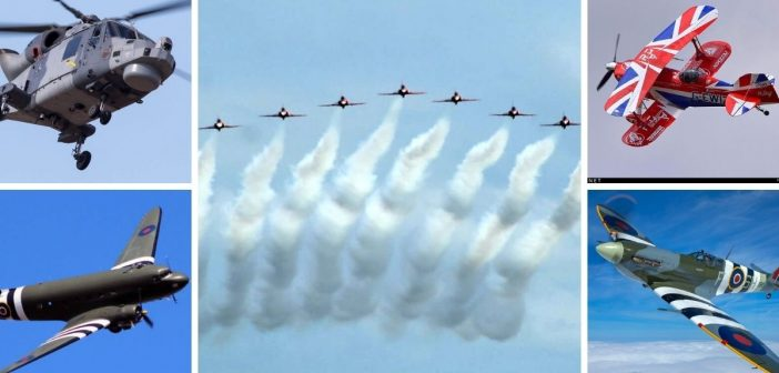 Sidmouth Airshow confirms line-up of Red Arrows, Spitfires, Lynx helicopters, RAF Dakota and more….